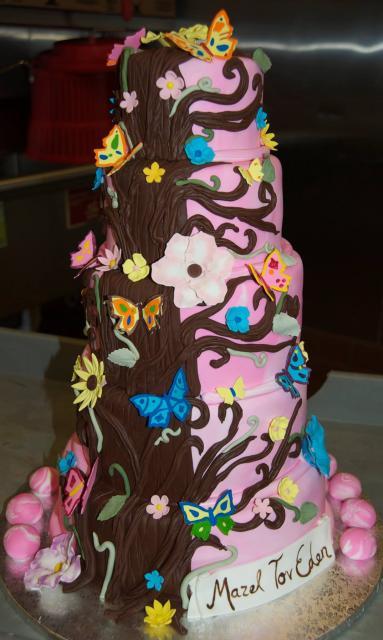 Garden Butterfly Cake