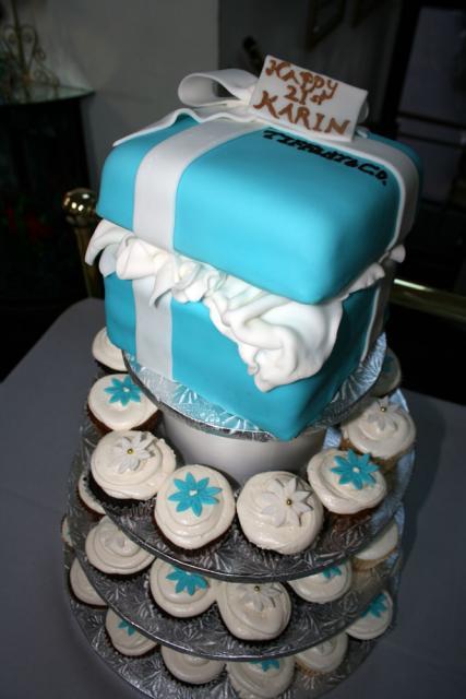Tiffany Box Cupcakes