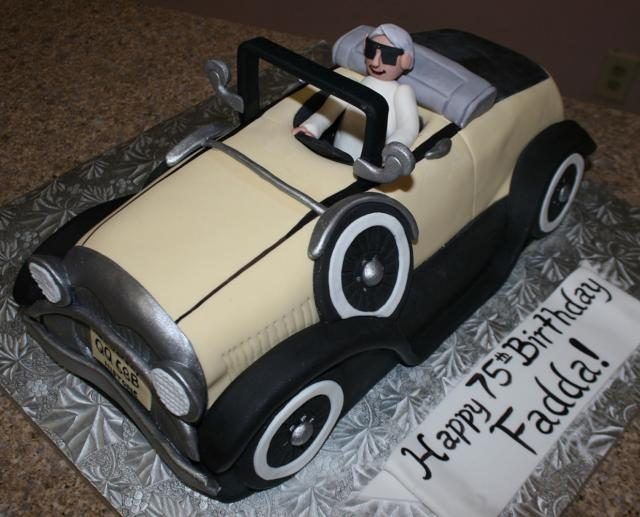 Antique Car Cake
