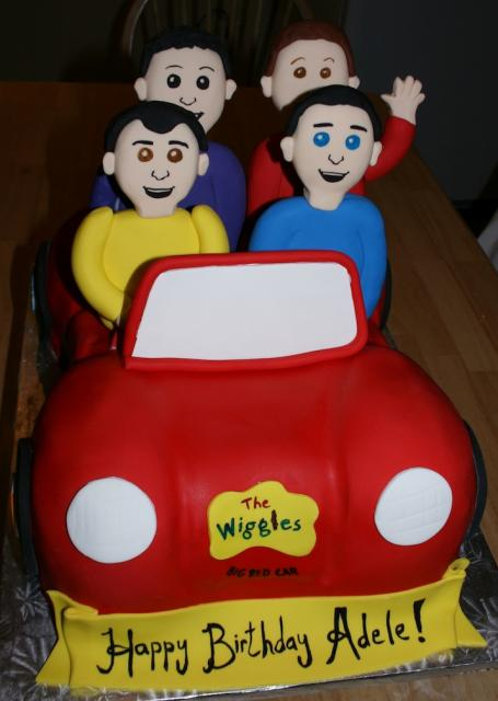 Wiggles Car Birthday Cake