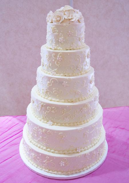 Tall Buttercream Cake